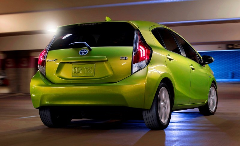 Simple 2015 Toyota Prius C Light Tight Bright And The Highest City Fuel