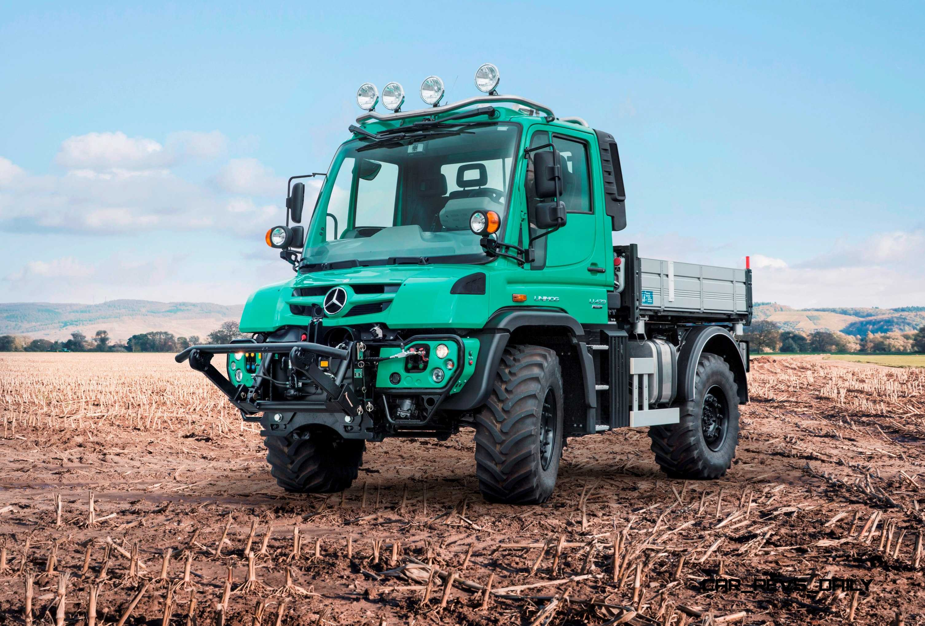 2015 unimog u5023 gains even more hardcore off road for Mercedes benz unimog