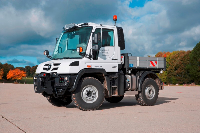 2015 Unimog U218 and U423 Upfit Showcase 1