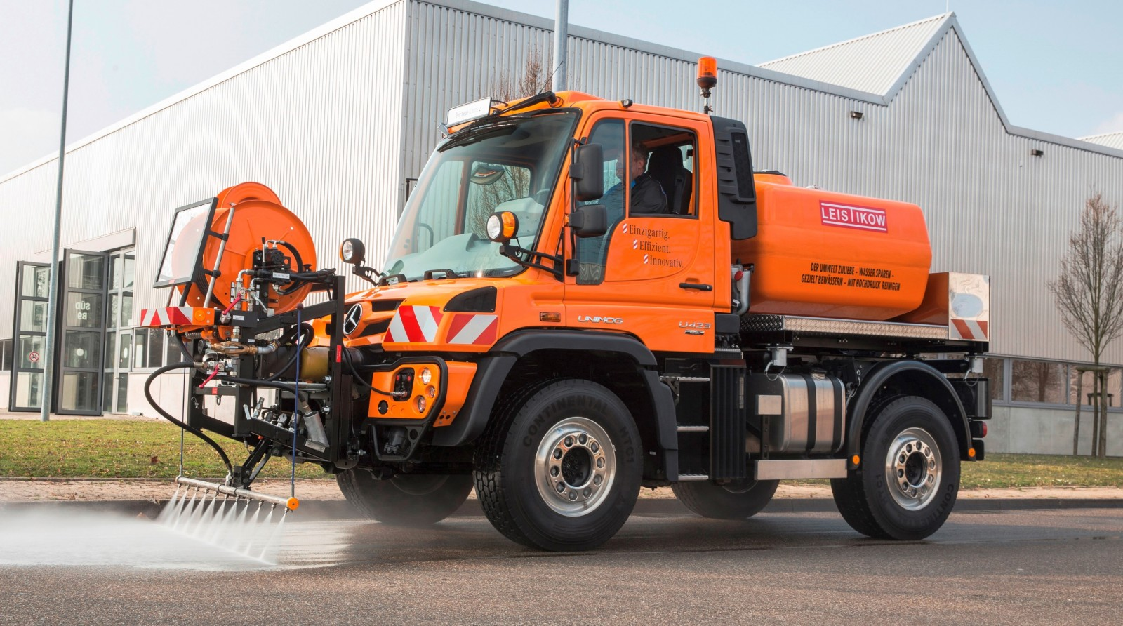 2015 Unimog U218 and U423 Upfit Showcase 104