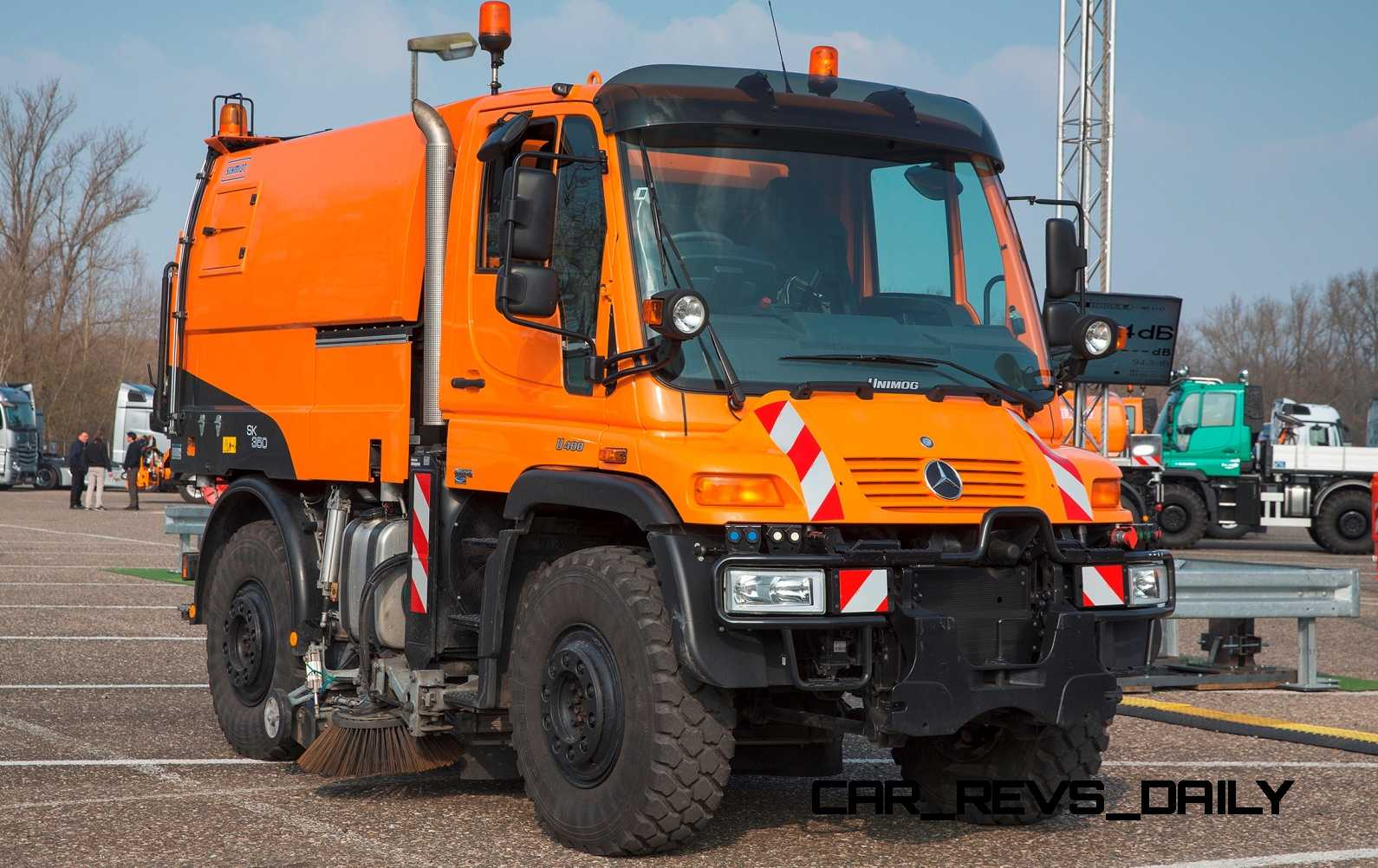 2015 Unimog U218 and U423 Upfit Showcase 110