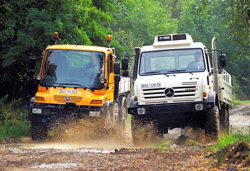 2015 Unimog U218 and U423 Upfit Showcase 112