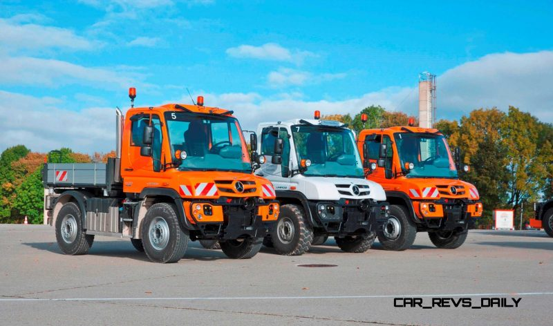 2015 Unimog U218 and U423 Upfit Showcase 30