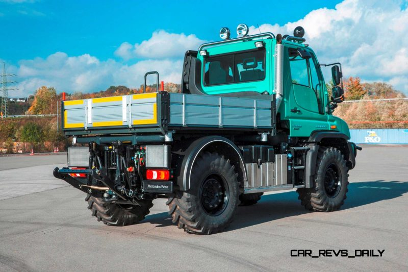 2015 Unimog U218 and U423 Upfit Showcase 40