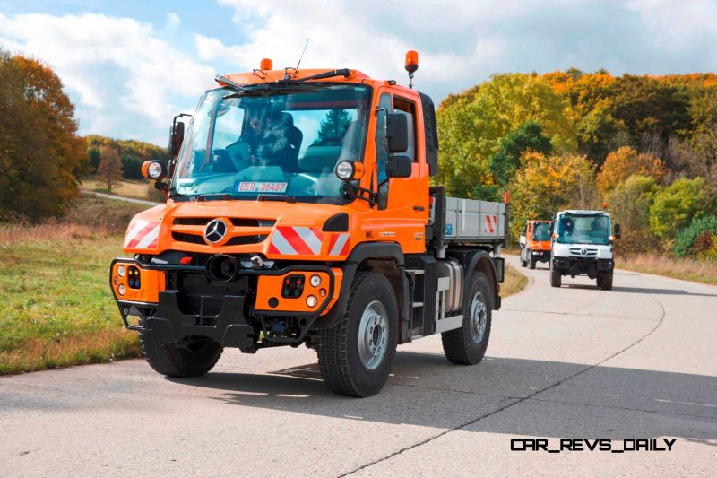 2015 Unimog U218 and U423 Upfit Showcase 8