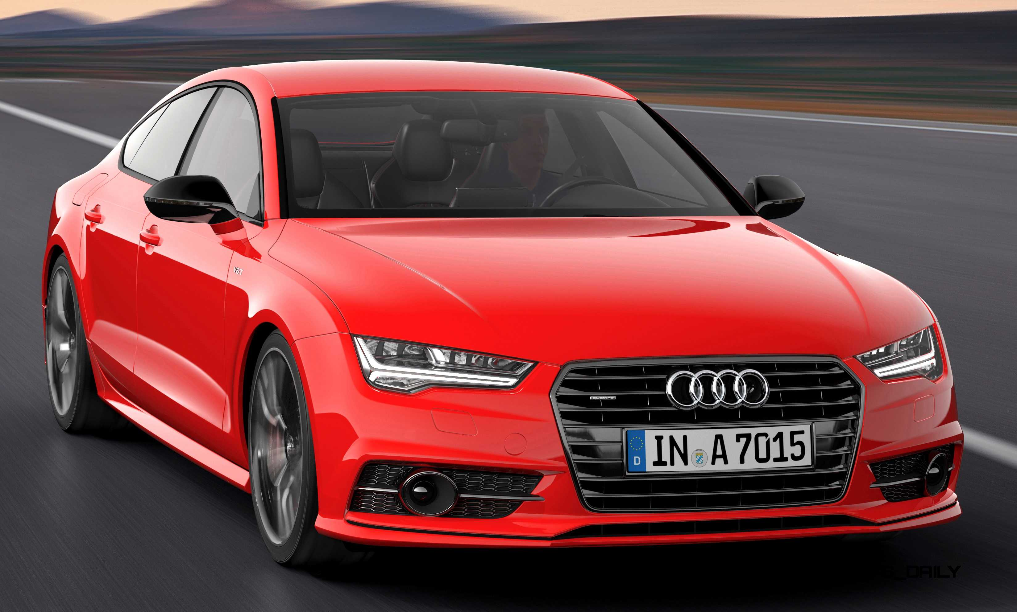 Updated 2016 Audi A7 And S7 Will Debut In La New Black