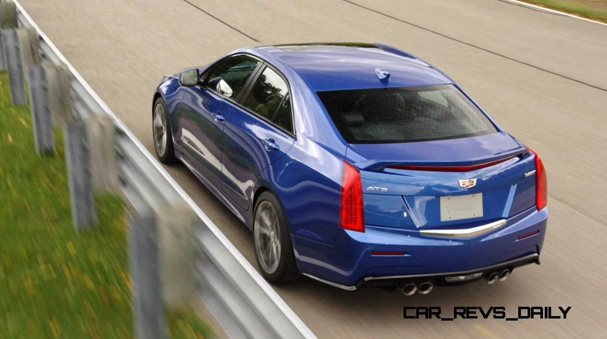2016 Cadillac ATS-V Sedan 13
