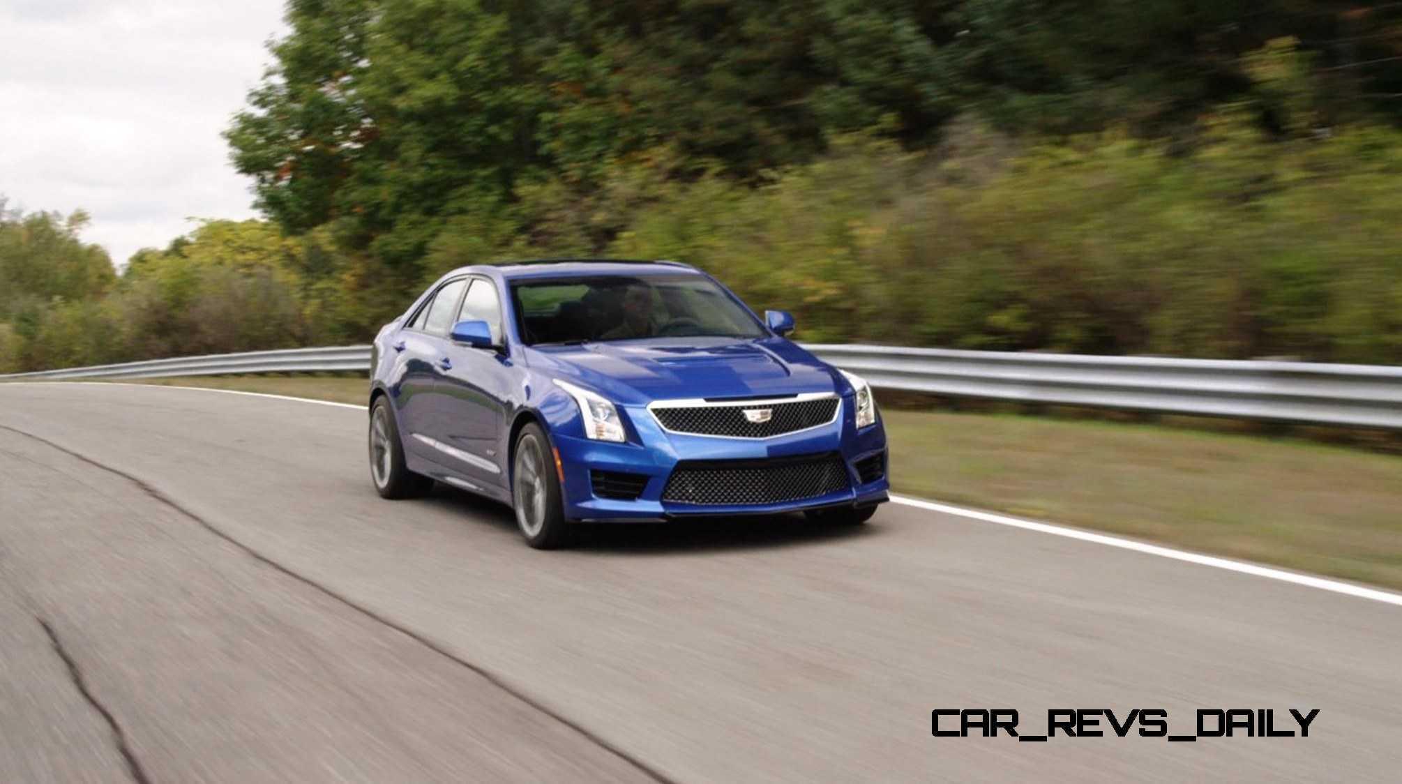 2016 Cadillac ATS-V Sedan 14