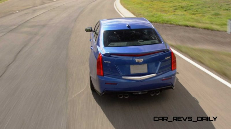 2016 Cadillac ATS-V Sedan 16