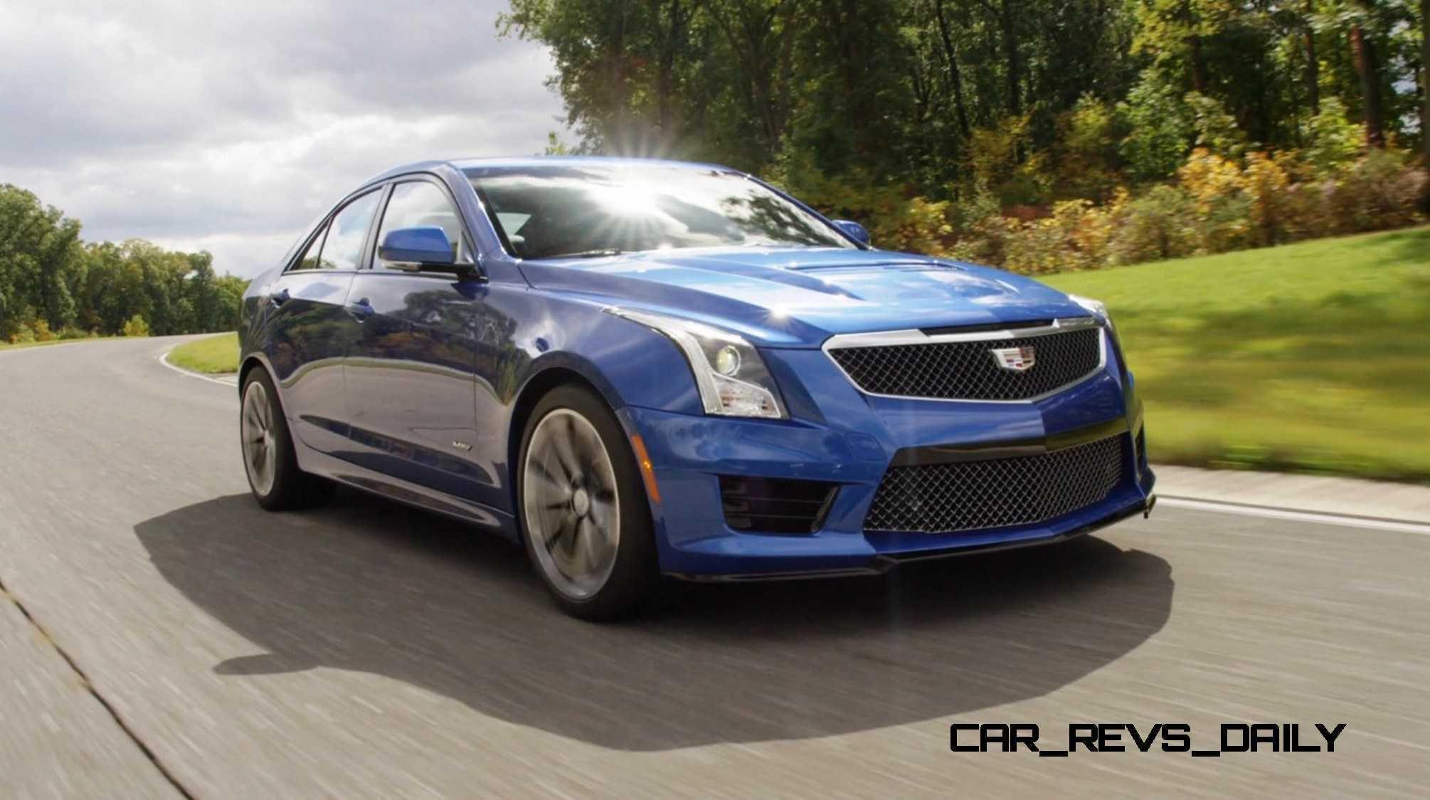 2016 Cadillac ATS-V Sedan 30