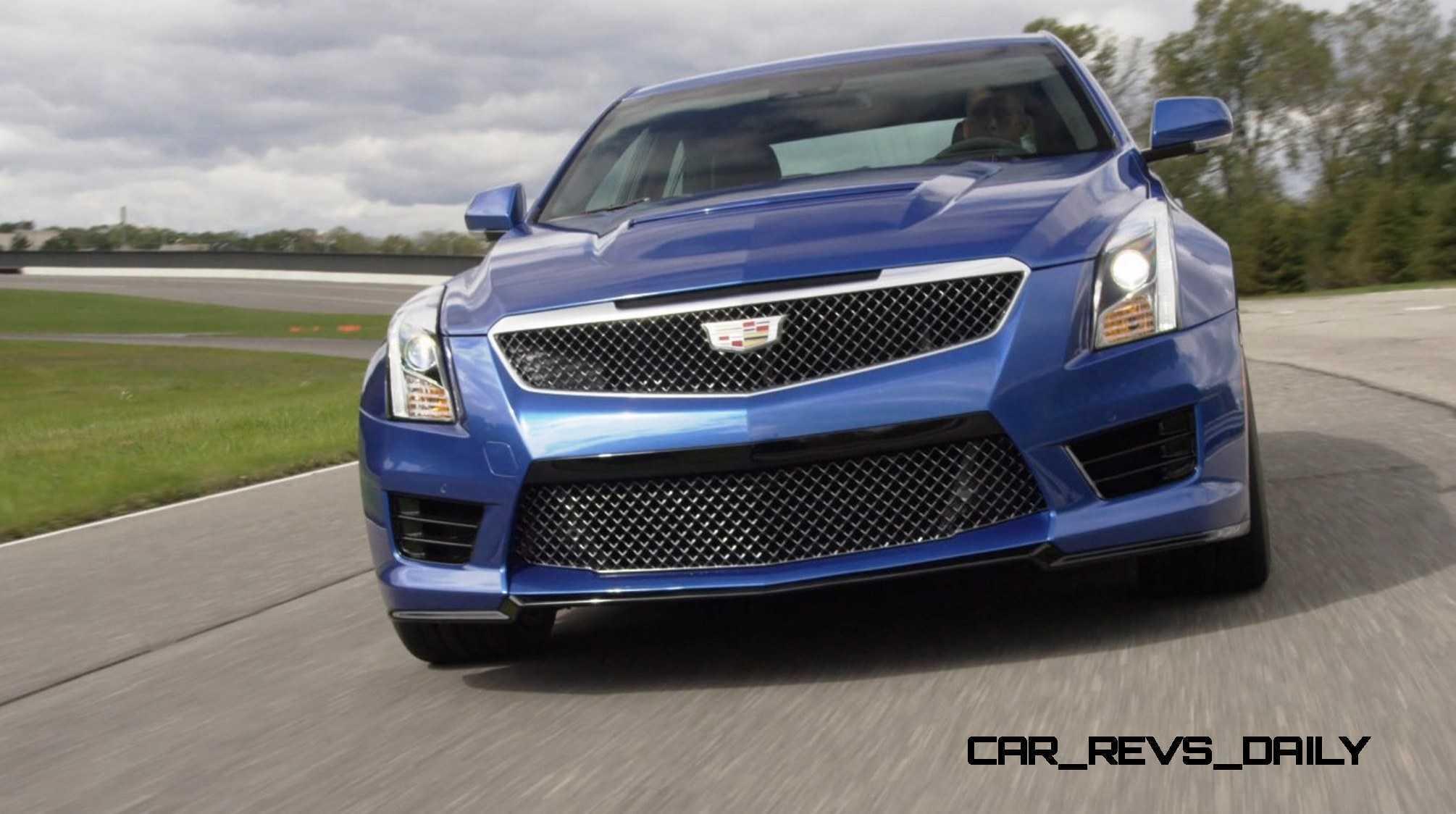 2016 Cadillac ATS-V Sedan 31