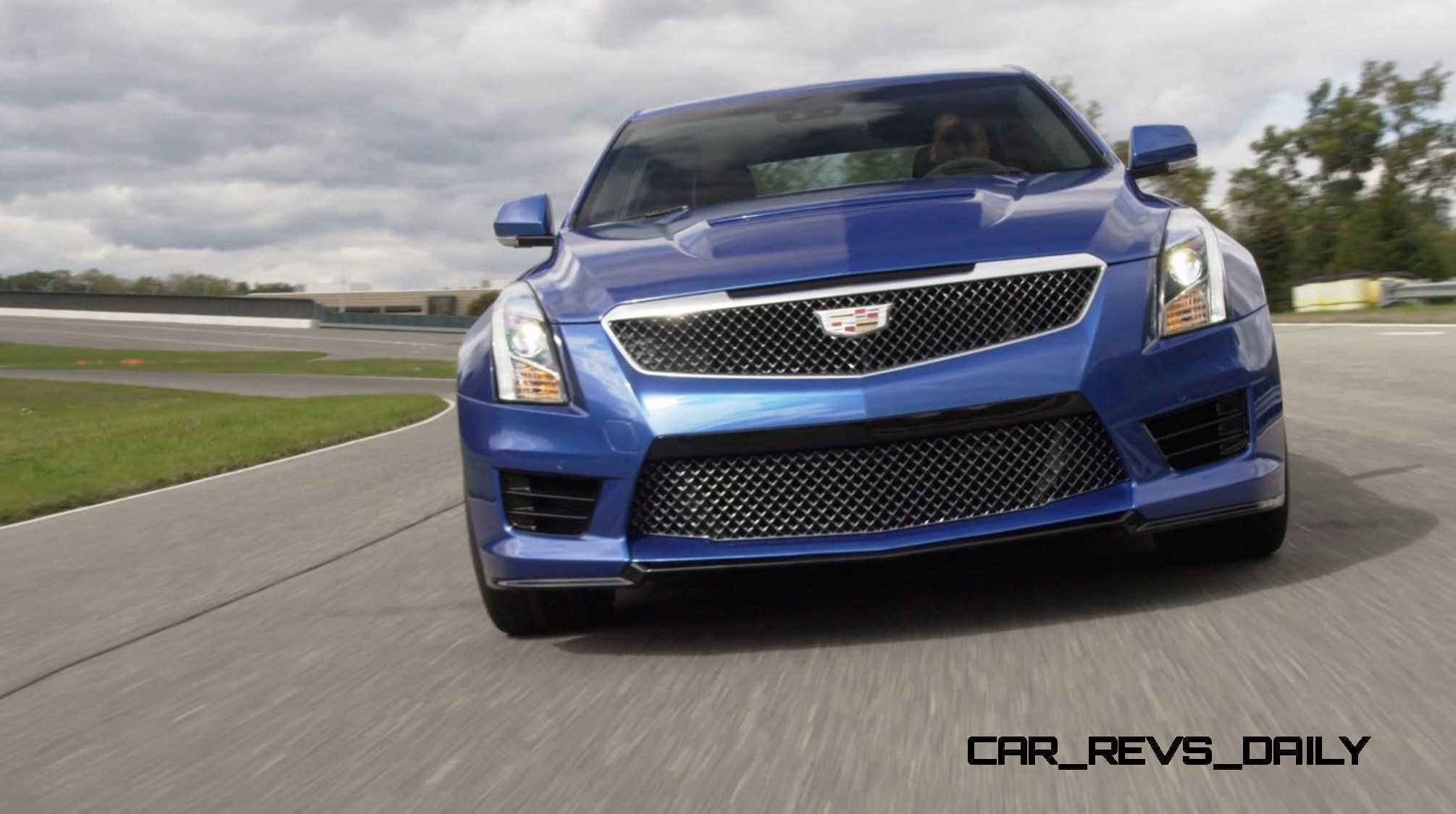 2016 Cadillac ATS-V Sedan 32