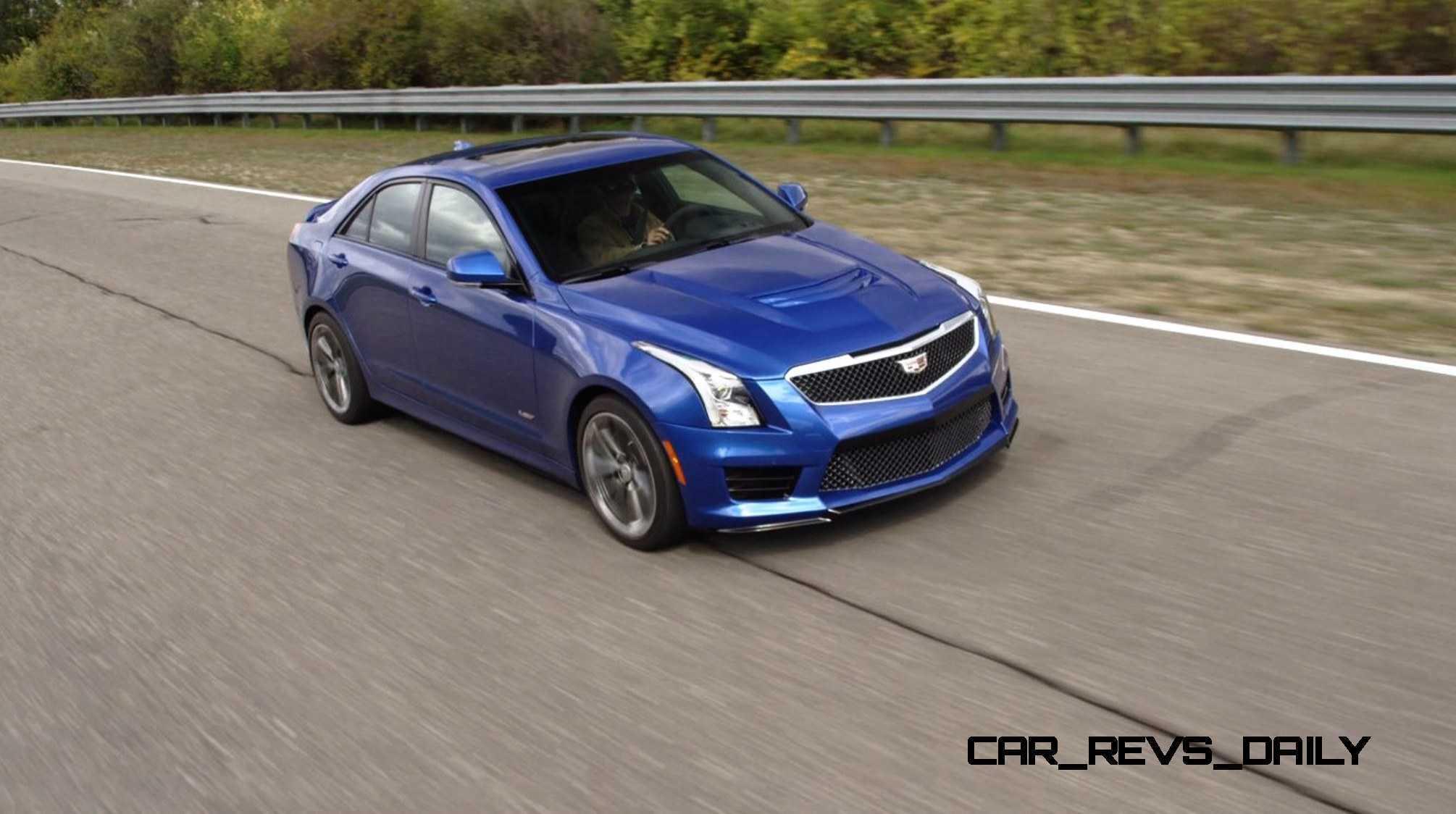 2016 Cadillac ATS-V Sedan 35