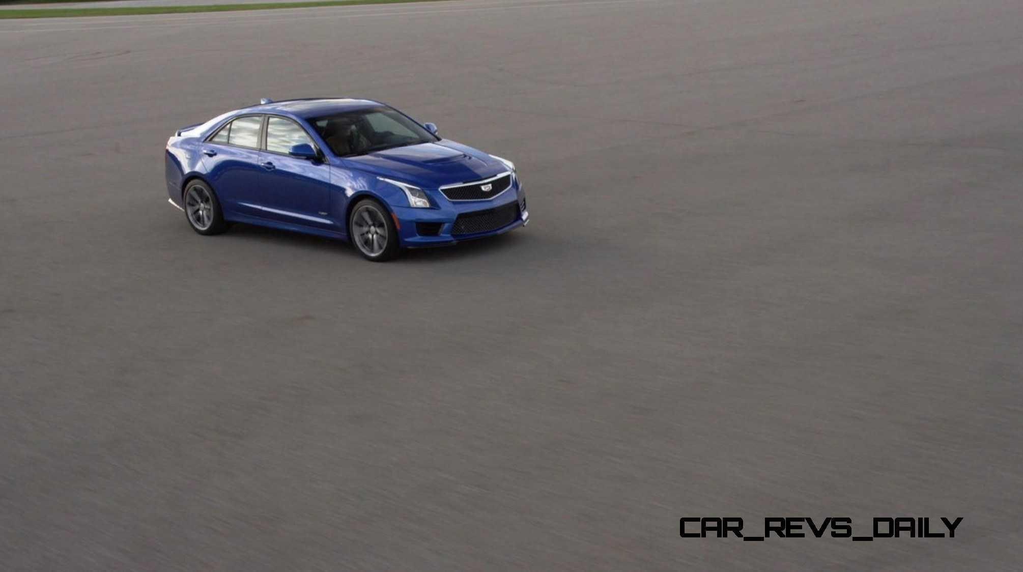 2016 Cadillac ATS-V Sedan 37