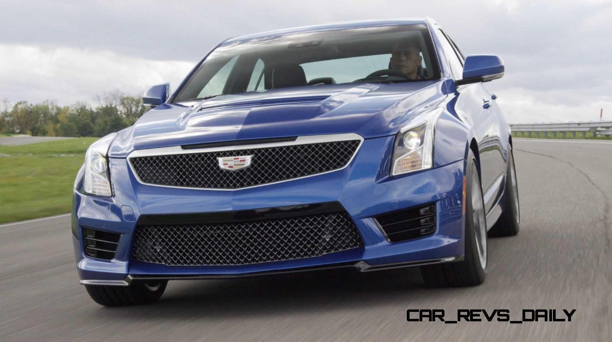 2016 Cadillac ATS-V Sedan 8