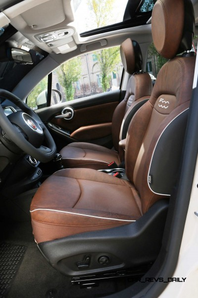 2016 Fiat 500X 9