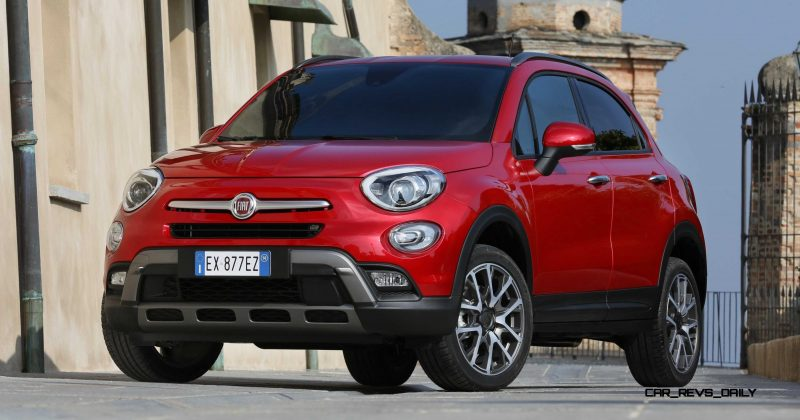 2016 Fiat 500X Cross AWD 1