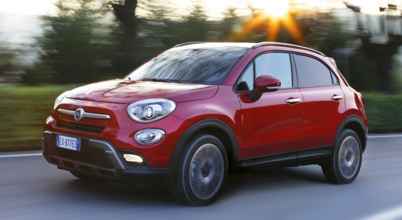 2016 Fiat 500X Cross AWD 11