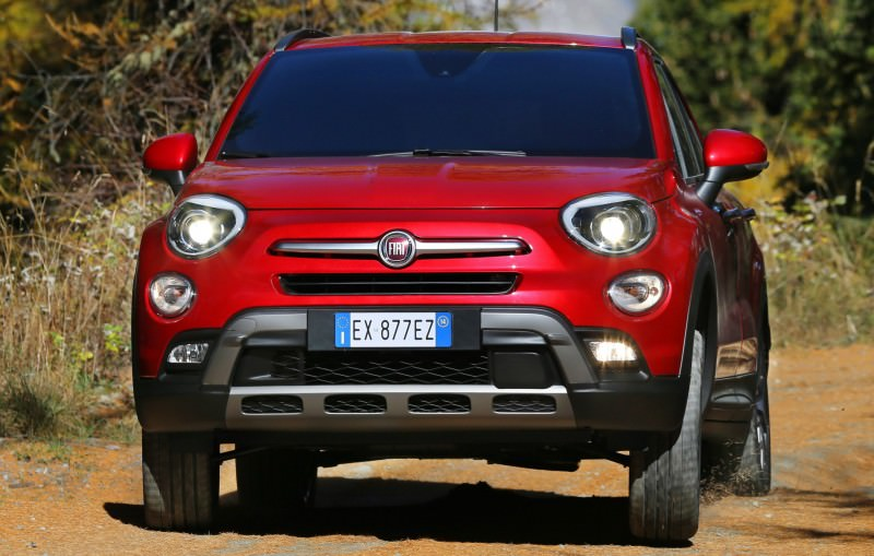 2016 Fiat 500X Cross AWD 12