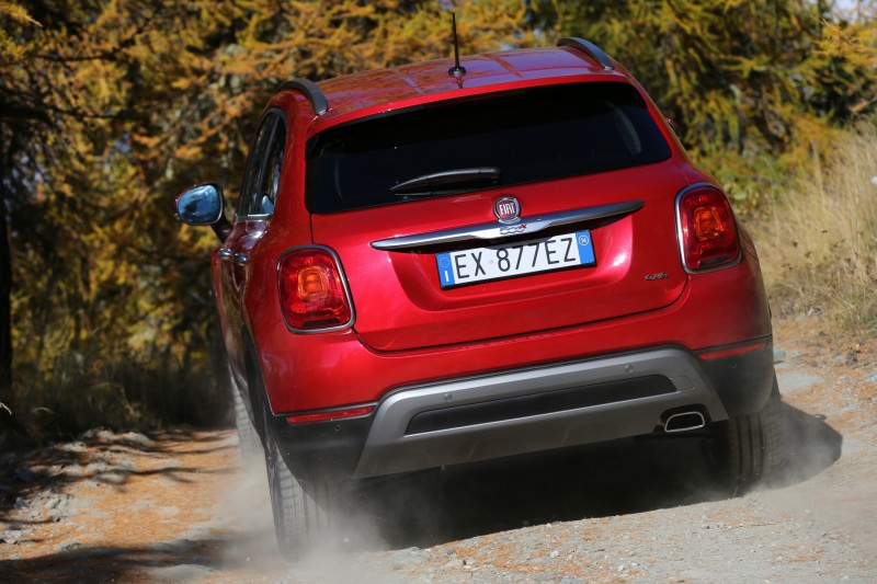2016 Fiat 500X Cross AWD 14