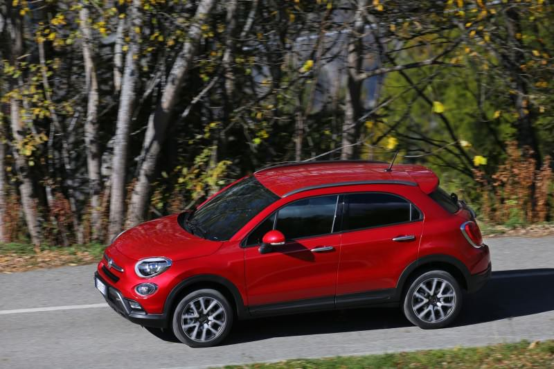 2016 Fiat 500X Cross AWD 16