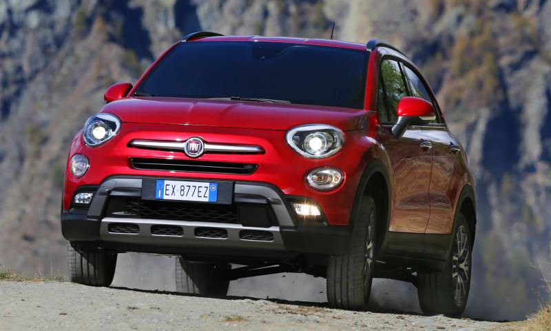 2016 Fiat 500X Cross AWD 17