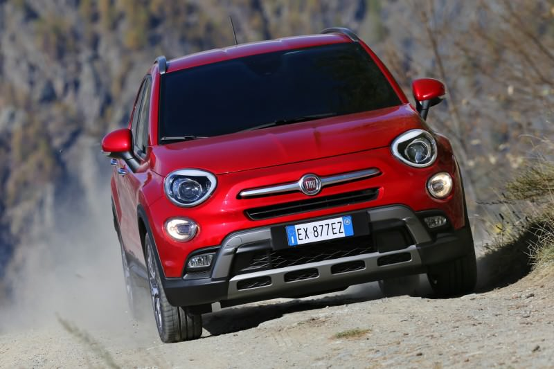 2016 Fiat 500X Cross AWD 18