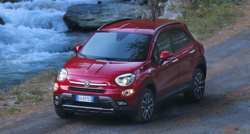 2016 Fiat 500X Cross AWD 19