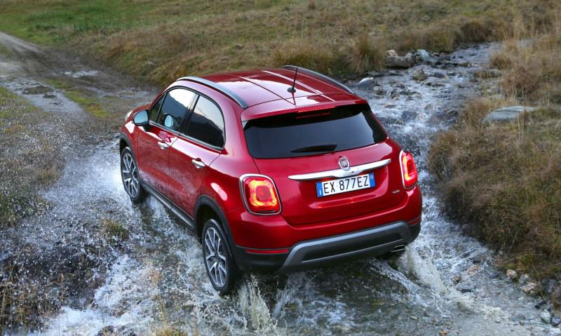 2016 Fiat 500X Cross AWD 25