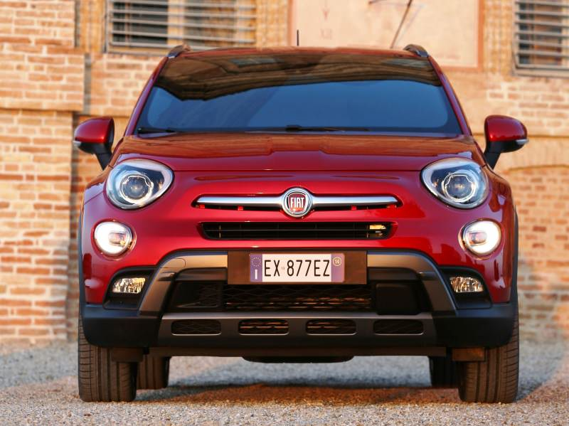 2016 Fiat 500X Cross AWD 4