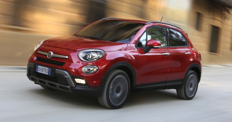 2016 Fiat 500X Cross AWD 5