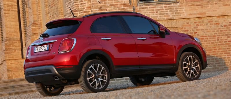 2016 Fiat 500X Cross AWD 6