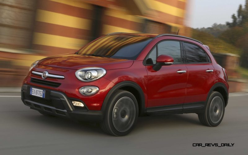 2016 Fiat 500X Cross AWD 7