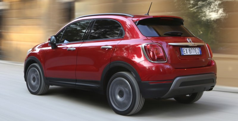 2016 Fiat 500X Cross AWD 9