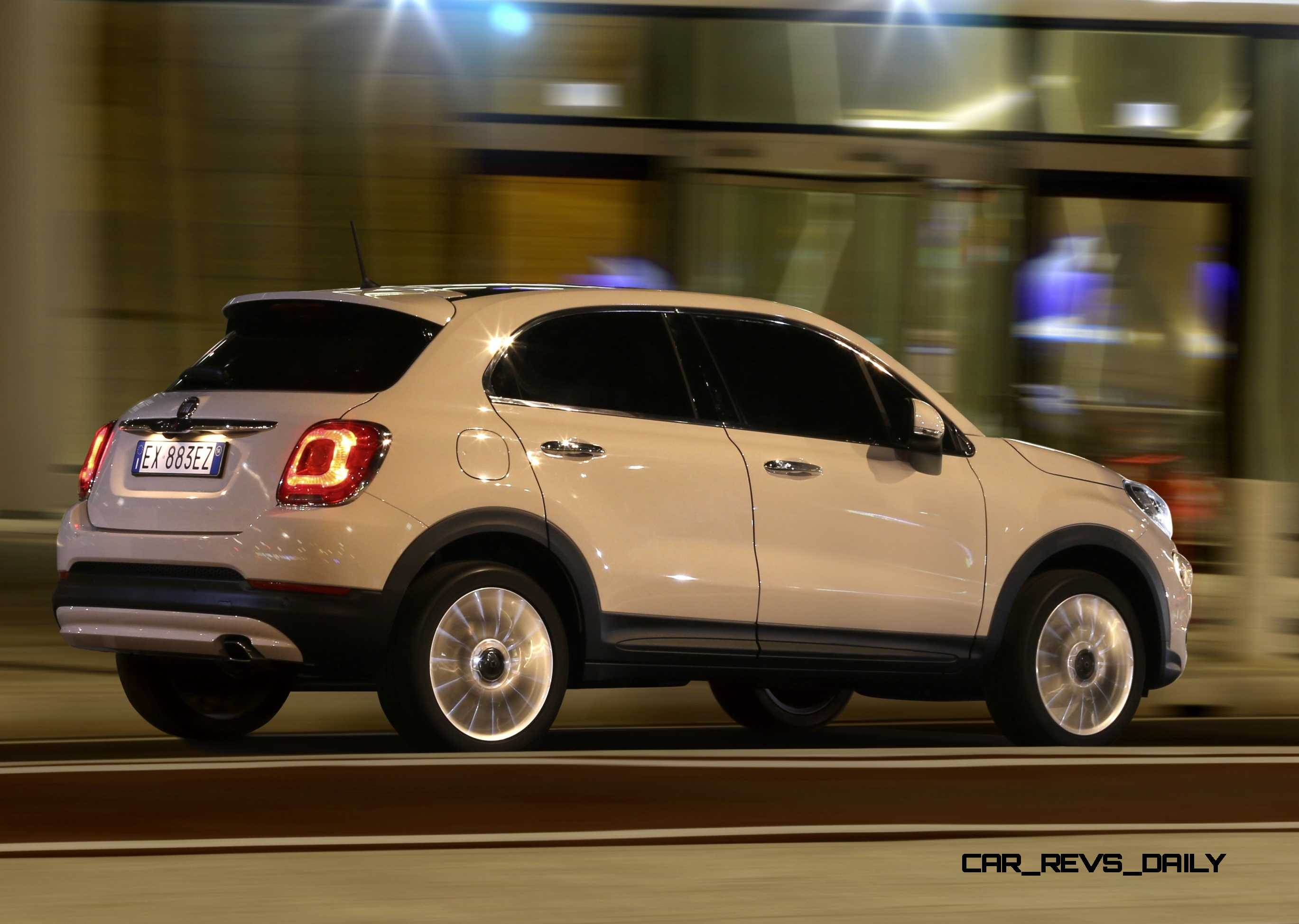 2016 fiat 500x lounge is right sized city softroader with. Black Bedroom Furniture Sets. Home Design Ideas