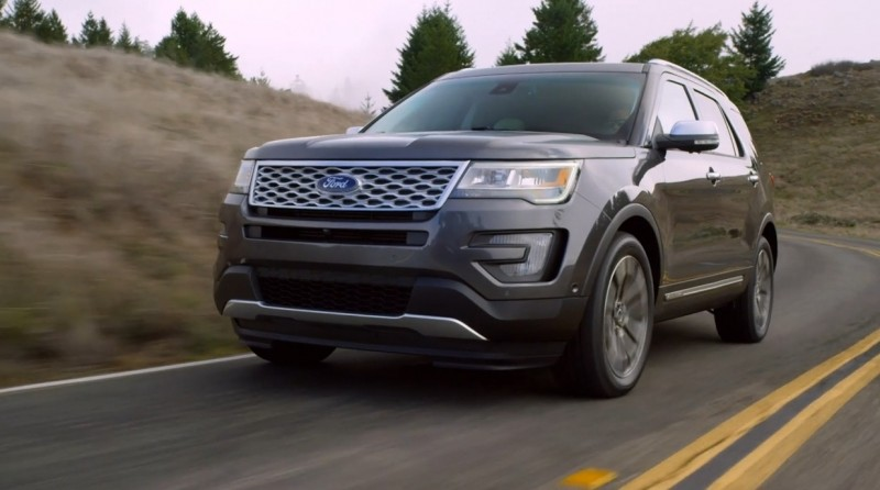 2016 Ford Explorer Platinum 33