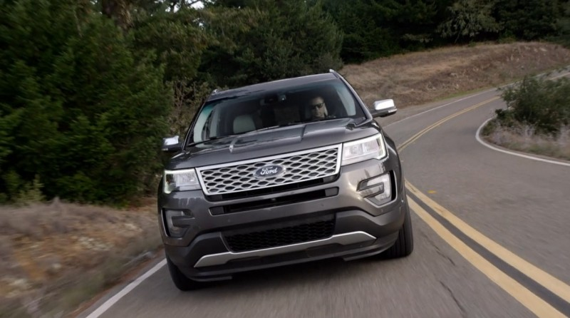 2016 Ford Explorer Platinum 56