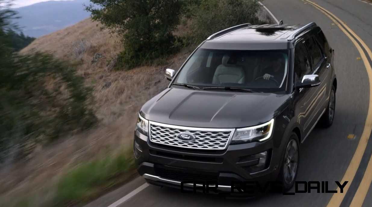 2016 ford explorer revealed with new engines fresh styling and platinum range topper. Black Bedroom Furniture Sets. Home Design Ideas