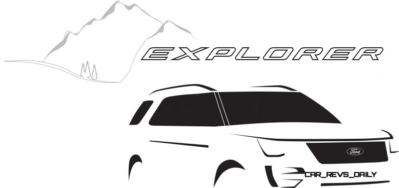 The New Ford Explorer Logo