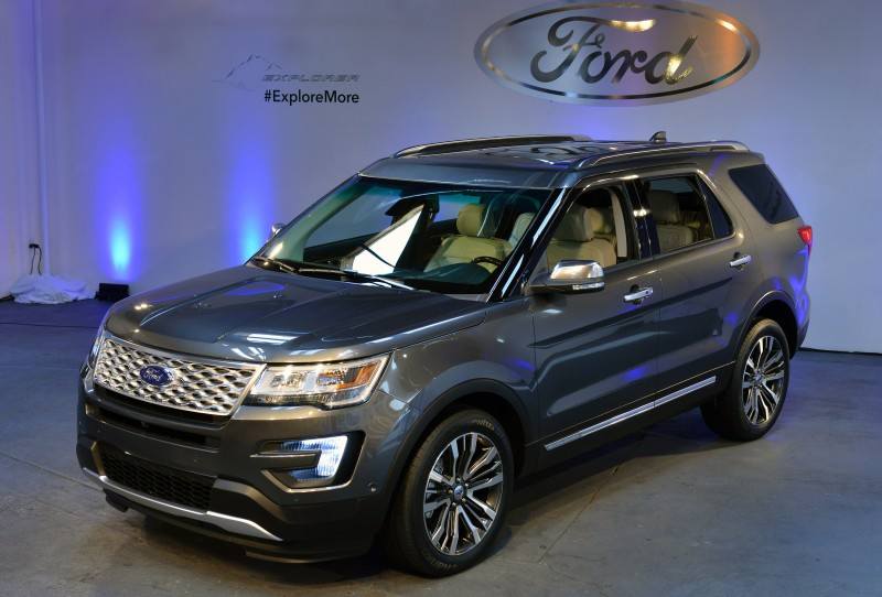 The New Ford Explorer in LA