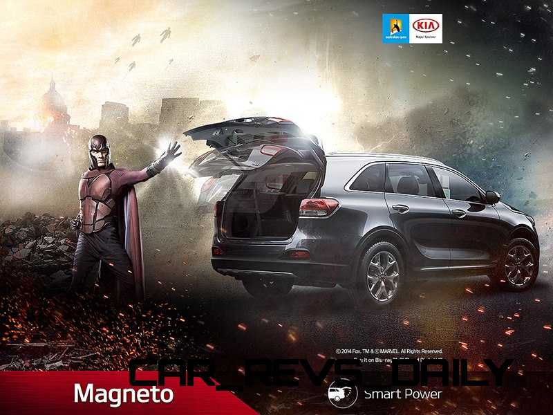 2016 Kia Sorento X-Men 1