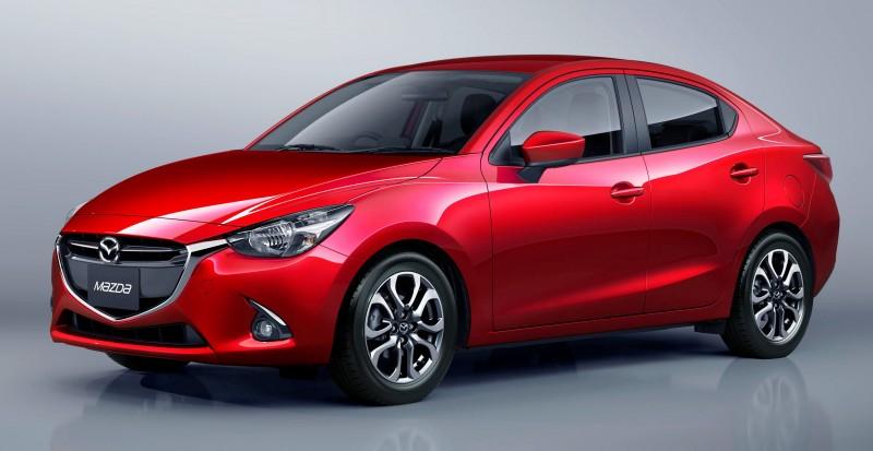 2016 Mazda2 Sedan 12