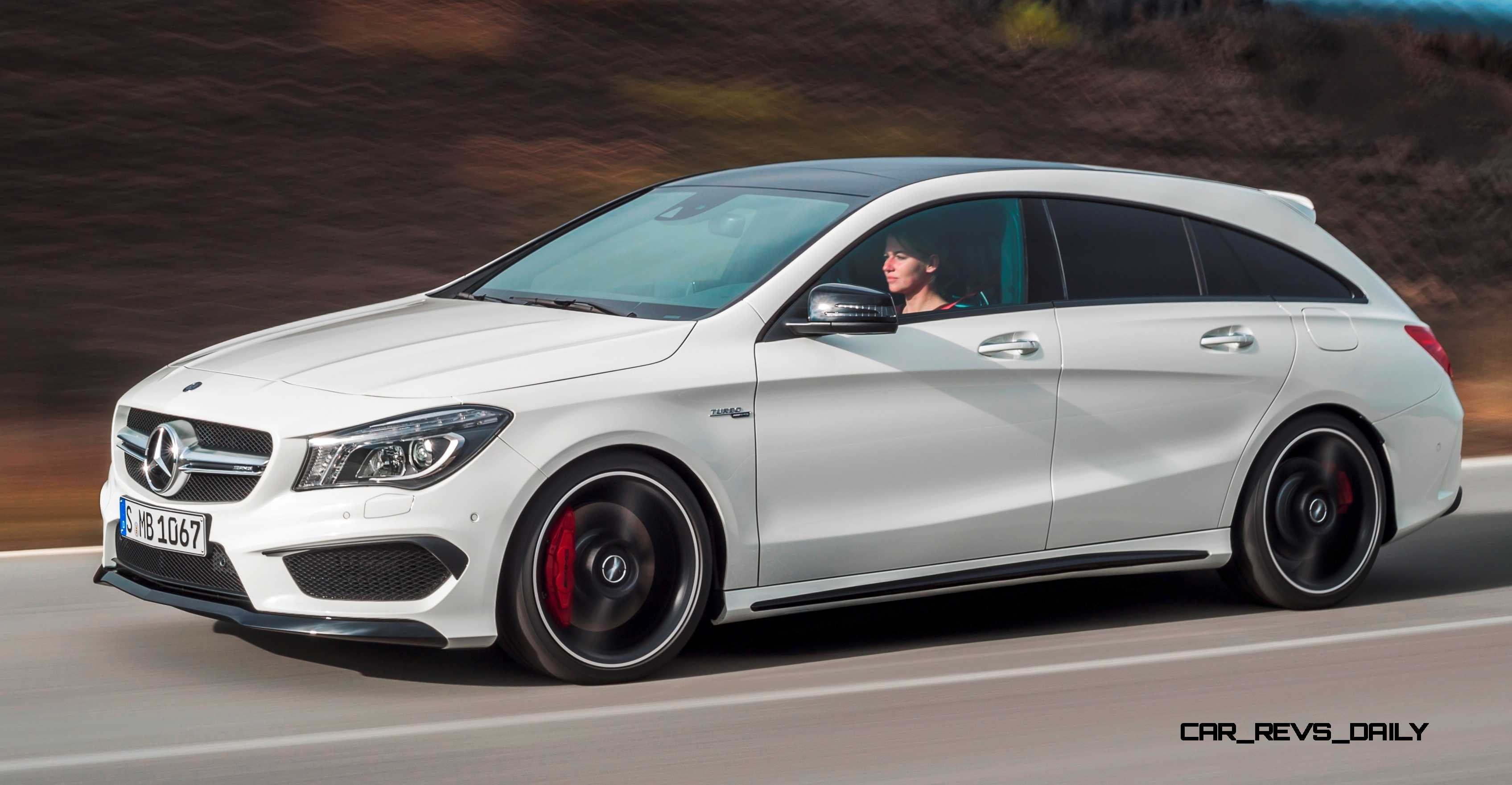 2016 mercedes amg cla45 shooting brake. Black Bedroom Furniture Sets. Home Design Ideas