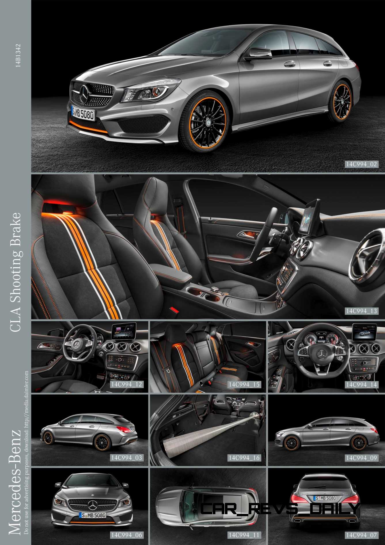 Mercedes Cla 250 >> 2016 Mercedes-Benz CLA250 Shooting Brake Revealed for Euro ...