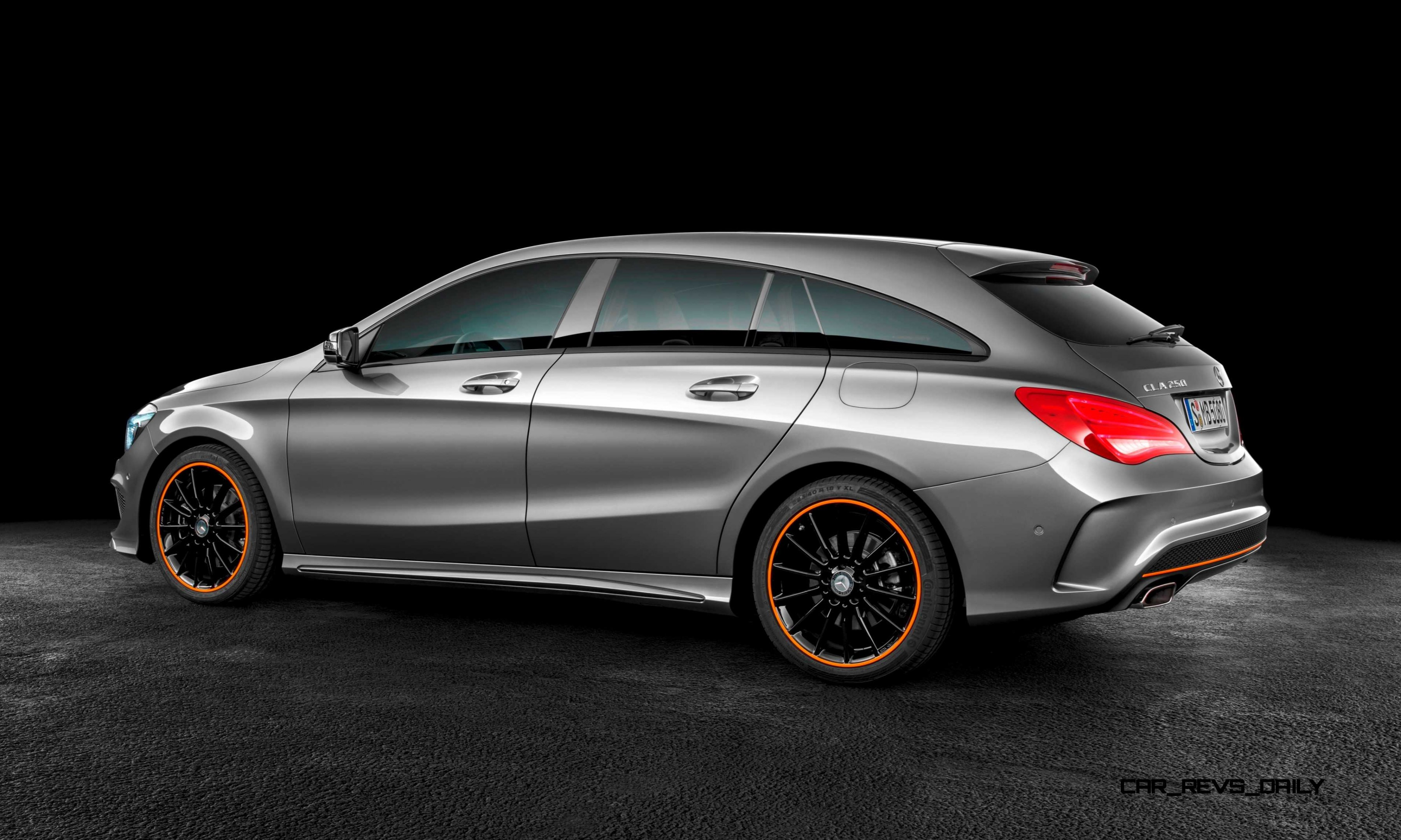 2016 mercedes benz cla250 shooting brake revealed for euro