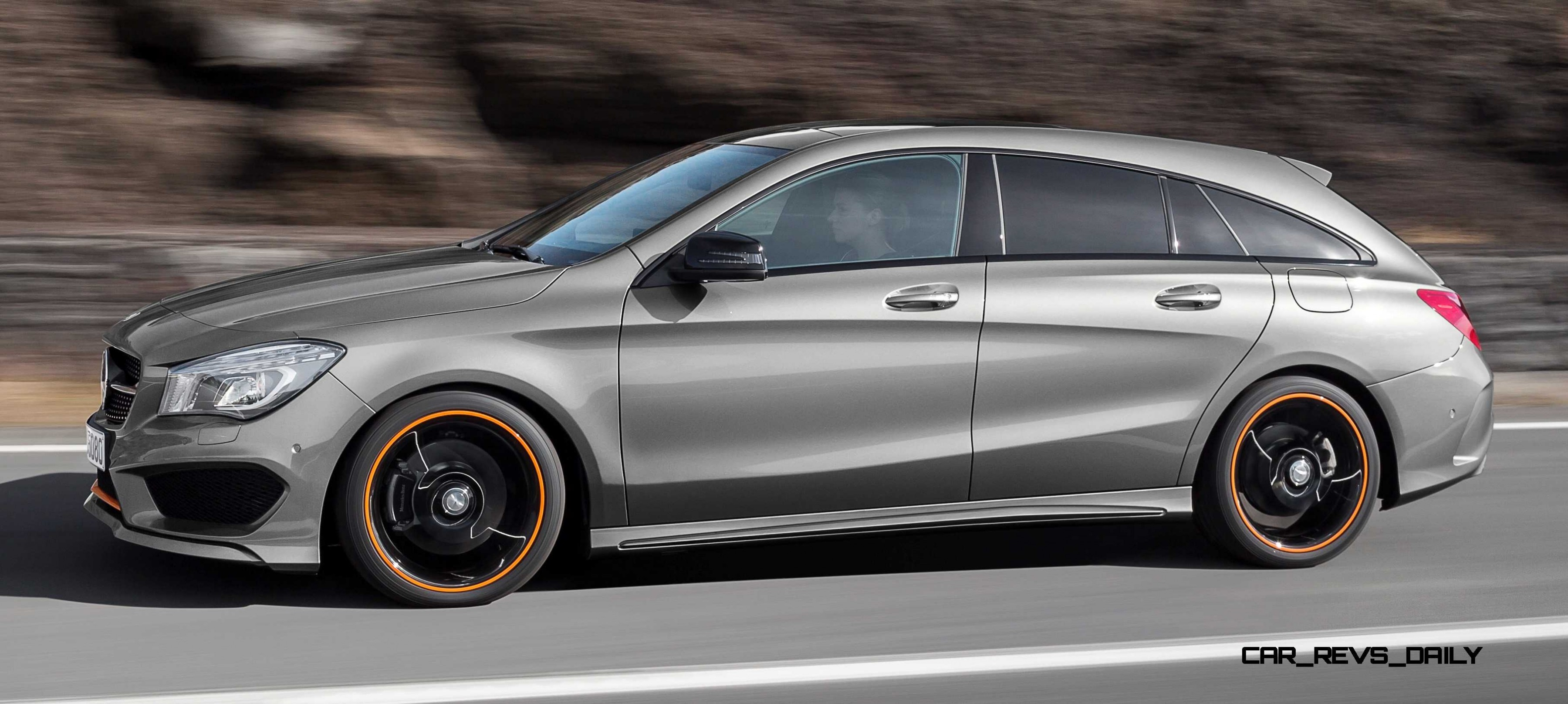 2016 mercedes benz cla250 shooting brake revealed for euro markets. Black Bedroom Furniture Sets. Home Design Ideas