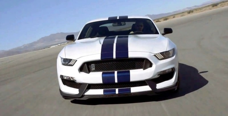 2016 SHELBY GT350 Mustang White 10