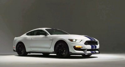 2016 SHELBY GT350 Mustang White 100