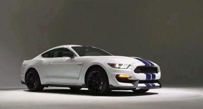 2016 SHELBY GT350 Mustang White 101