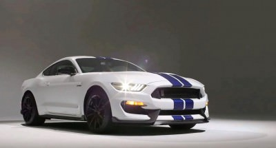 2016 SHELBY GT350 Mustang White 105